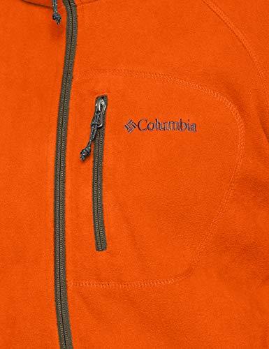 Homme Ii Trek Peatmoss Columbia Fleece Backcountry Orange Veste Fast Polaire Full Zip 1qwnn8Fg