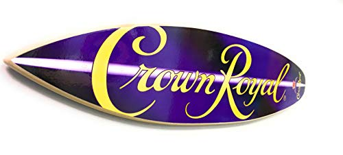 Crown Royal Sign - 23 inch Decorative Surfboard ()