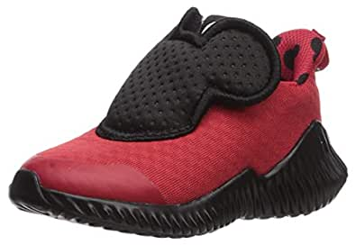 adidas Fortarun Mickey Mouse Shoes Kids' Red Size: 4 Toddler