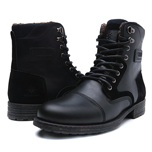 GLOBALWIN GW Mens Winter Water Resistance Boot (9.5 M US, 16521black)