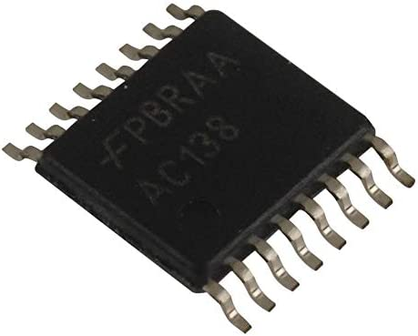 75 mA 8 Output 74AC138MTC TSSOP-16 2 V to 6 V Pack of 75 1 Input 74AC138MTC AC Family Decoder