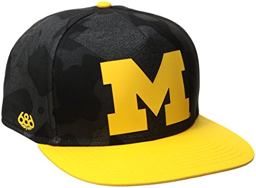 ncaa michigan wolverines toasty snapback
