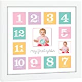 Tiny Ideas Baby's First Year Keepsake Picture Photo...