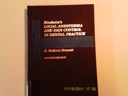 Monheim's Local Anesthesia and Pain Control in Dental Practice