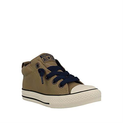 Converse Junior Chuck Taylor All Star Street Boots (5 M US Big Kid, Sand Dune) (Converse Girl Boots)