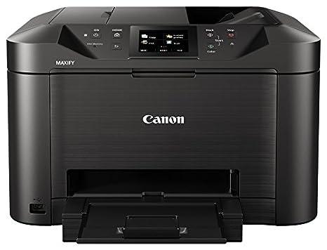 Canon MAXIFY MB5150 - Impresora de inyección de Tinta (1 Cassette de 250 Hojas, Pantalla táctil TFT en Color de 8,8 cm, 15,5 ipm en Color y 24 ipm en ...