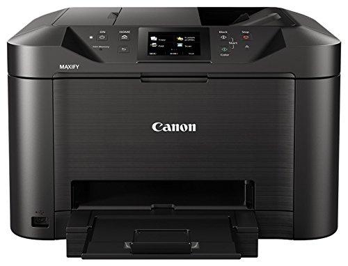 Canon Maxify MB5150 Stampante Multifunzione Inkjet, 24 ipm in Bianco e Nero, 15.5 ipm a Colori, 600 x 1200 dpi, Nero/Antracite 0960C009 business cannon fax
