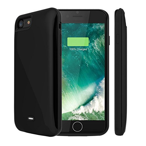 iPhone 7 Plus Battery Case, Maxdara Charging claim 7500 mAh External Backup Battery Charger claim Rechargeable strength Bank claim for iPhone 7 Plus 5.5 inch (Black)
