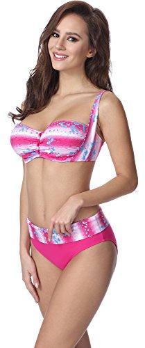 Feba Mujer Moldeadora Cuerpo Bikini F13 Patrón-317
