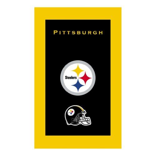 KR Strikeforce Bowling Bags Pitsburgh Steelers NFL Licensed Towel by KR - Nfl Team Bowling Towel