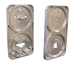 Morning Industry MP-300PLT Metal Security Gate Adapter Plate for MP-300, Aluminium