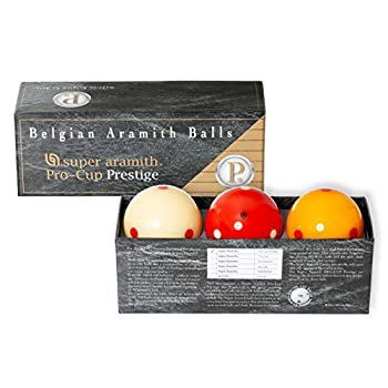 Image of Aramith Super Pro-Cup Prestige Carom Ball Set 61.5 mm