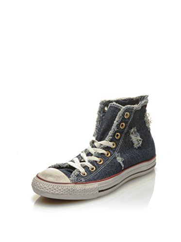 As Chuck Uomo Denim Navy Taylor Converse Sneaker Hi Denim Can qZEEH