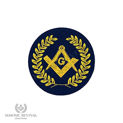- Masonic Revival - Insignia Gold Bullion Masonic Embroidery Patch