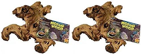 (Zoo Med Tag Mopani Wood (2 Pack))
