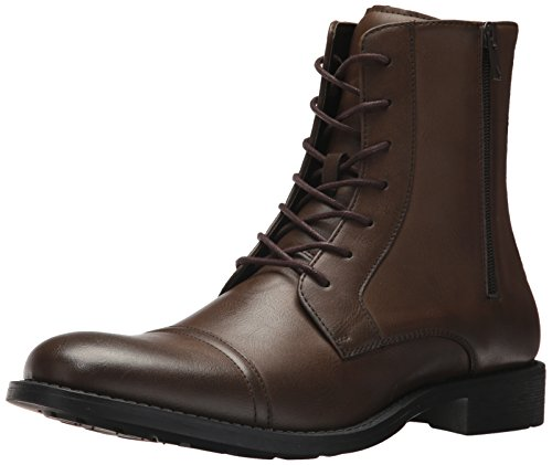 Unlisted by Kenneth Cole Men's Design 30175 Mid Calf Boot, Brown, 10.5 M US
