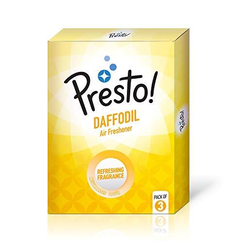 Amazon Brand – Presto! Air Freshener Pocket, Daffodil – 10 g (Pack of 3)