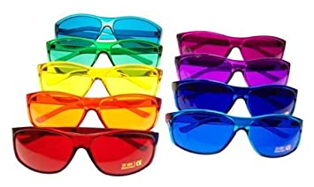 998522f81094 Color Therapy Glasses Pro Style Set of 9 Colors  Also Available in Set of 7