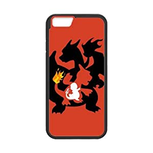 HipsterOne Custom Charmander Charmeleon Charizard Pokemon Case for iPhone 6 (4.7 inch; Laser Technology)