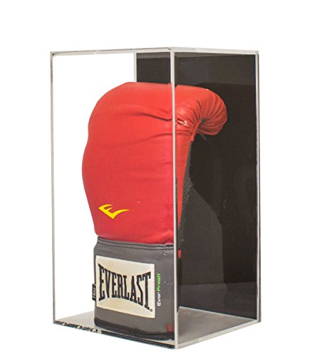 Mount Case Display Wall - Vertical Boxing Glove Display Case Wall Mount (A044)