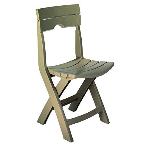 Adams Manufacturing 8575-96-3700 Quik Fold Chair, Portobello