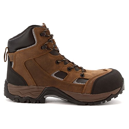 Puncture Composite Crazy Boots Toe MCRAE Proof Brown Crazyhorse Horse Work 6xqCd