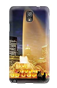 morgan oathout's Shop Hot Premium Tpu Chicago City Cover Skin For Galaxy Note 3 6267688K57351196
