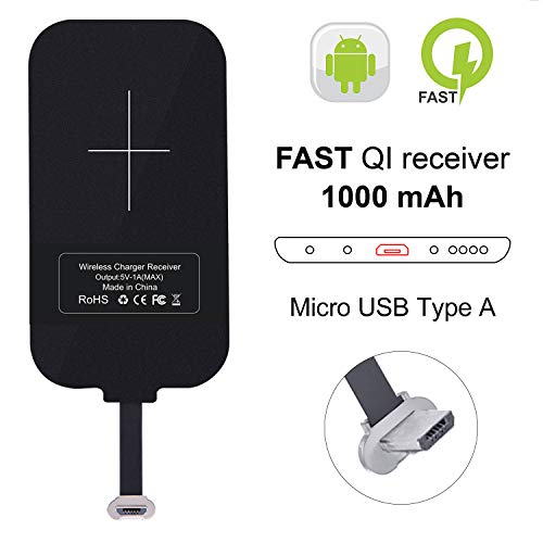 Convierta su celular a carga inalambrica Micro-USB Ver Foto
