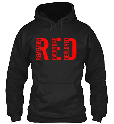 Teespring Red Friday - Unisex - Large - Black - 50% cotton, 50% polyester - Hoodie
