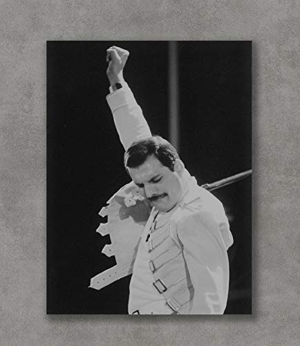 KaiSa Freddie Mercury Queen Poster Art Print Posters,18×24 Unframed Poster Print
