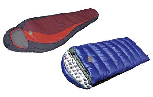Cheap Alpinizmo High Peak Redwood (-5F) and Kodiak (-15F) Sleeping Bags Combo Set