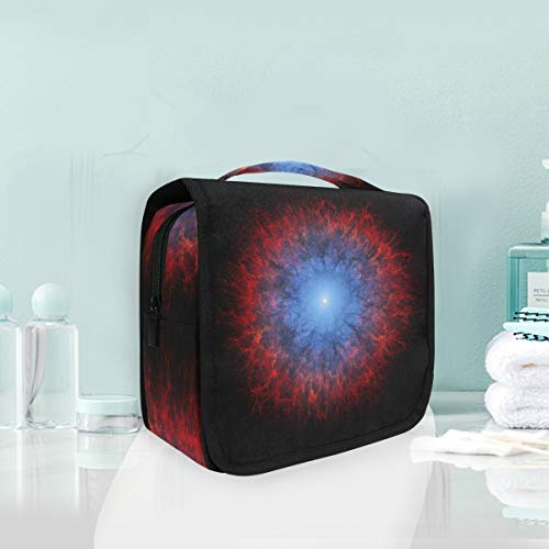 Makeup Bag Cosmetic Storage Bag Art Artistic Futuristic Science Space Fantasy Artw Toiletry Portable]()