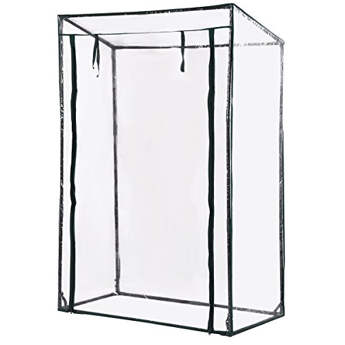 Giantex 40″x20″x59″ Garden Greenhouse Grow House Plant Vegetable Growbag W/PVC Cover