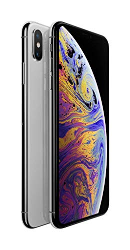 Apple iPhone XS Max (64GB) – Silver [works exclusively with Simple Mobile]