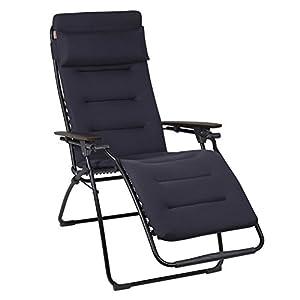 lafuma lfm2437 futura air comfort reclining chair acier. Black Bedroom Furniture Sets. Home Design Ideas