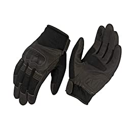 Rynox – Urban Motorcycle Sports Gloves (Brown, Size: Medium)