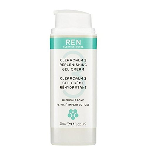 REN Clearcalm 3 Replenishing Gel Cream (Pack of 6) - 3補給ゲルクリーム x6 [並行輸入品] B072DXMK5T