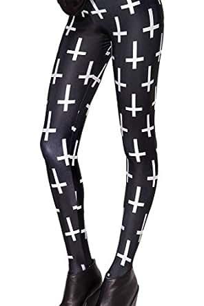 Roseate Women's 3D Emoji Design Sweatpants Leggings Running Tights Pants 61