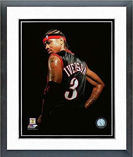 Framed Size: 12 x 15 Allen Iverson Philadelphia 76ers Action Photo