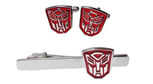Transformers Movie AUTOBOT Metal/Enamel TIE CLIP & CUFFLINK SET