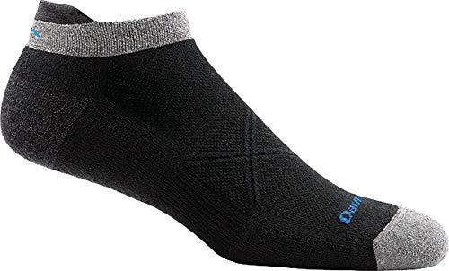 (Darn Tough Coolmax Vertex No Show Tab Ultra-Light Sock - Men's Black Large)