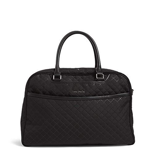 Vera Bradley Iconic Lay Flat Weekender Bag, Black ()