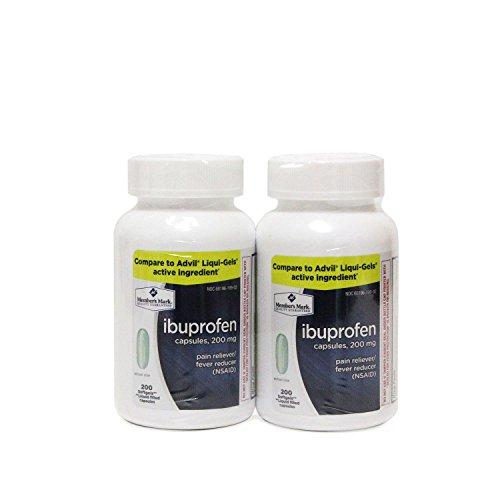 Member's Mark 200 mg Ibuprofen Softgel Tablets (200 ct., 2 pk.) (pack of 6) by Members Mark
