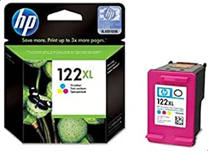 HP 122XL Tri-color (Cyan, Magenta, Yellow) Original Ink Advantage Cartridge - CH564EE