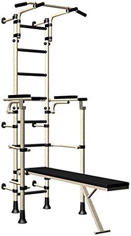 Interior Sport Gimnasio Entrenamiento Set para adolescentes & Adultos con barra horizontal con altura ajustable plegable,