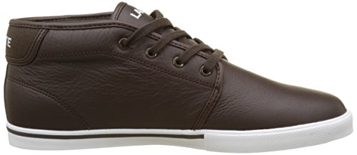 Ampthill Brown Hi SPM Men's Brown Trainers Lacoste LCR3 qH5OWw1