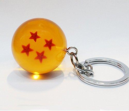 Acrylic Dragonball Crystal Keychain Keyring