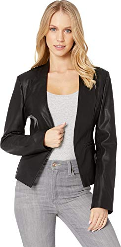 [BLANKNYC] Women's Jacket Outerwear, Mean Streets, - Women Blazer Leather