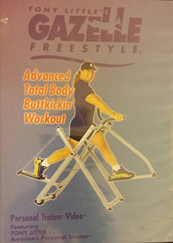 Freestyle Dvd Tony Gazelle Little - Tony Little's Gazelle Freestyle Advanced Total Body Buttkickin' Workout