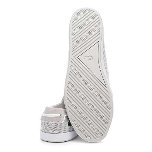 Lacoste Mujer Light Gris Lancelle Boat 117 1 CAW Zapatos